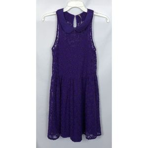 Free People Purple Floral Dress Size XS